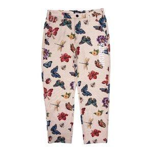 RIPNDIP Monarch Butterfly Tapestry Woven Pants